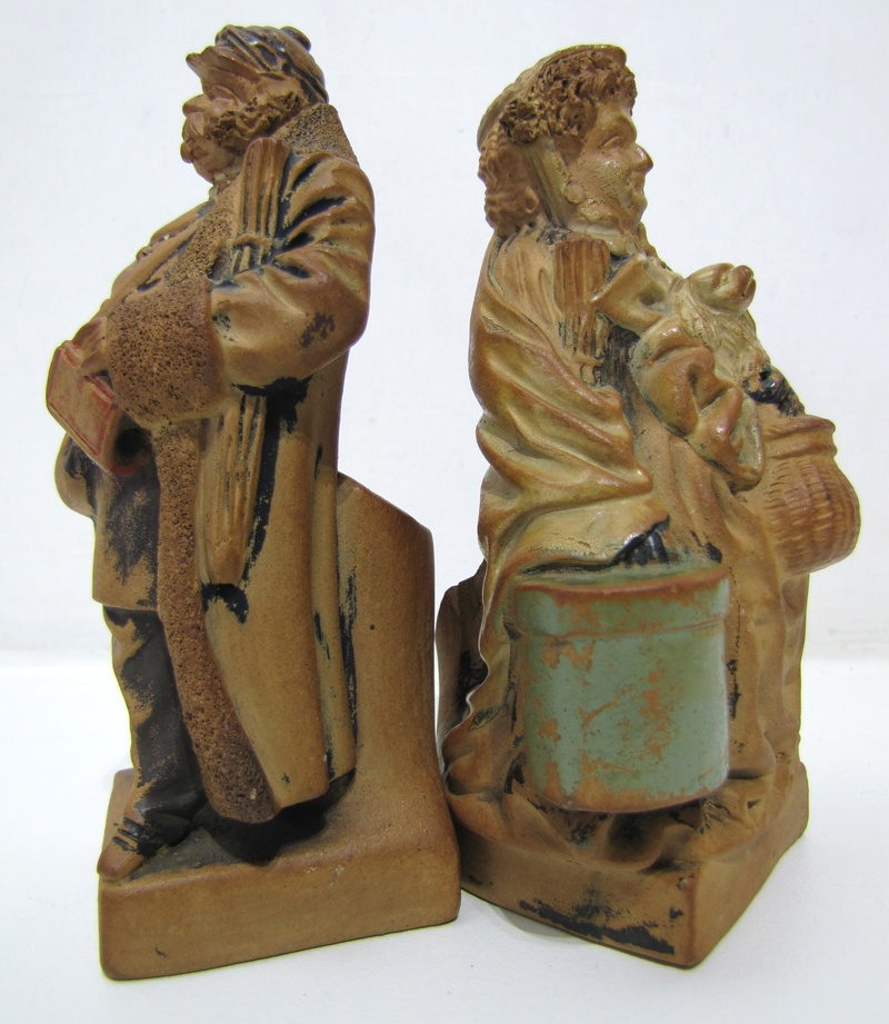 Earthenware figures Maybe Dickens characters ? Any ideas ..  Img_1411