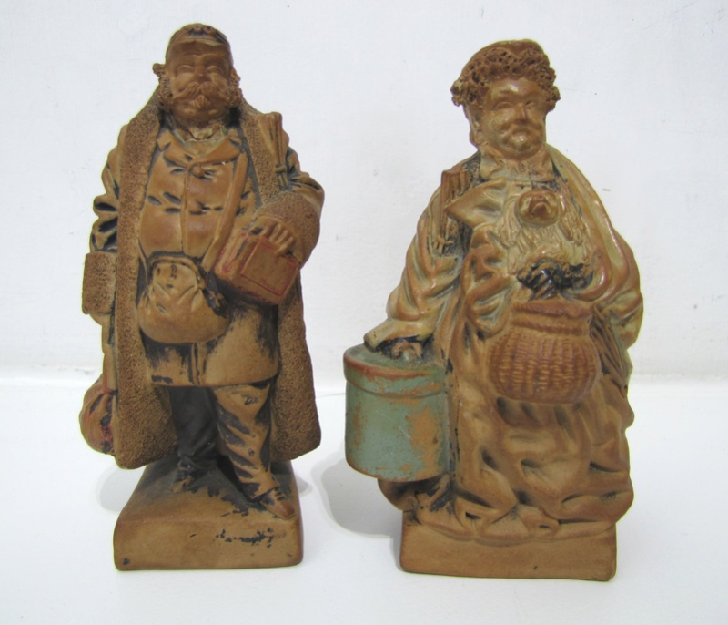 Earthenware figures Maybe Dickens characters ? Any ideas ..  Img_1414