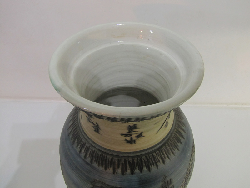 Hand thrown Pottery vase with Chinese markings but is it ?? Img_1613