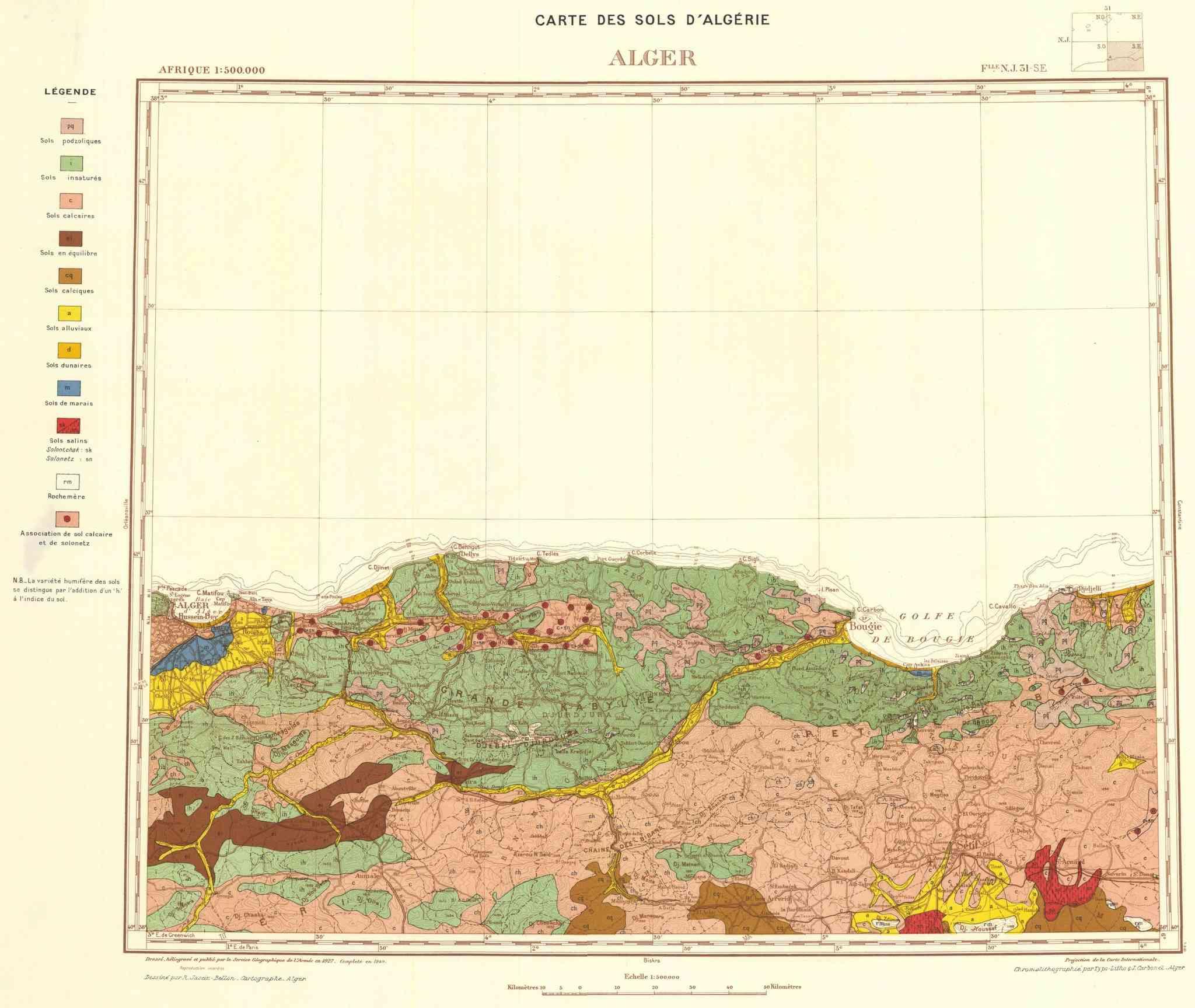 Carte de Géologie (Demande) Afr_cd10