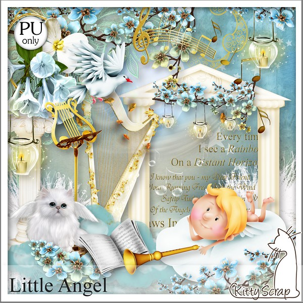 Little angel  Kittys13