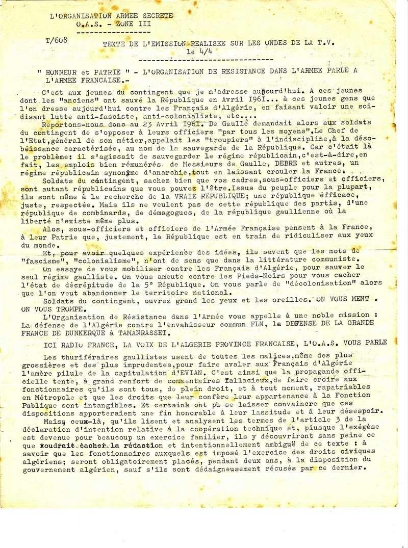 tracts de l'OAS C_111