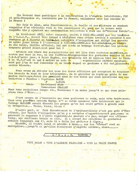 tracts de l'OAS C_211