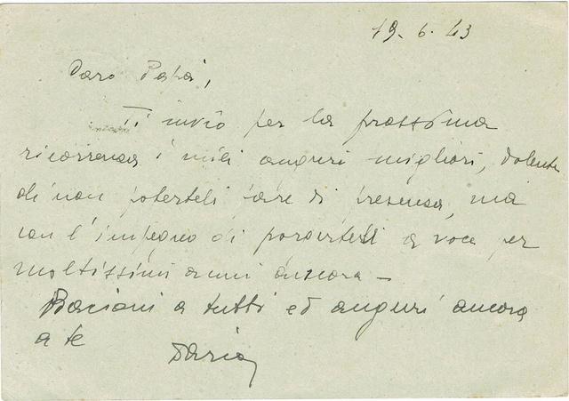 La censure italienne d'occupation en France avant l'invasion de la zone libre : MENTON ou MILAN Ccf18118
