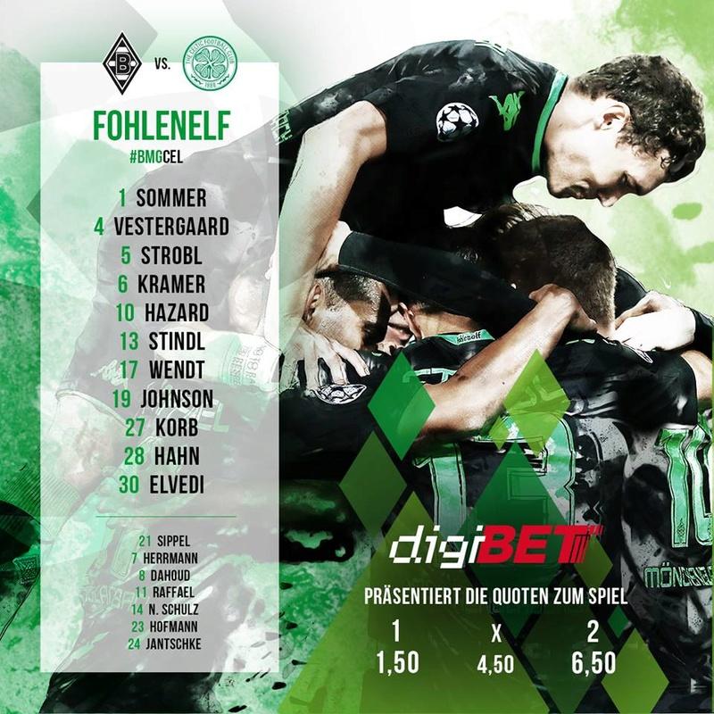CL, 4. Spieltag: Celtic schlägt seine Zelte im Park auf 14947610