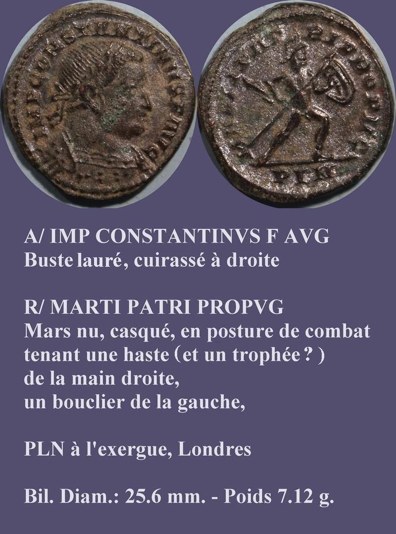 IMP CONSTANTINUS F AVG  - MARTI PATRI PROPVG Consta10