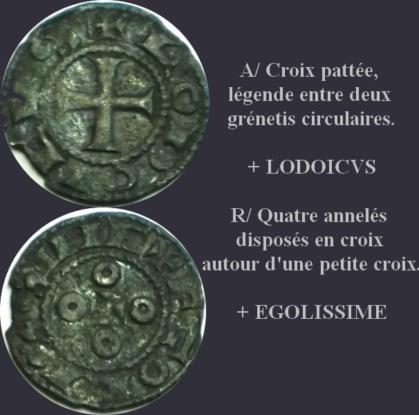 Denier anonyme des Comtes d'Angoulême et de la Manche Denier10