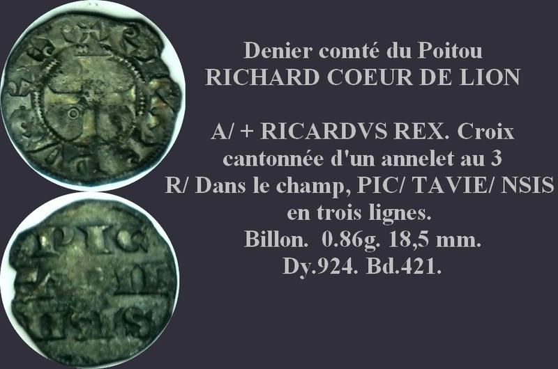 Richard Coeur de Lion Denier11