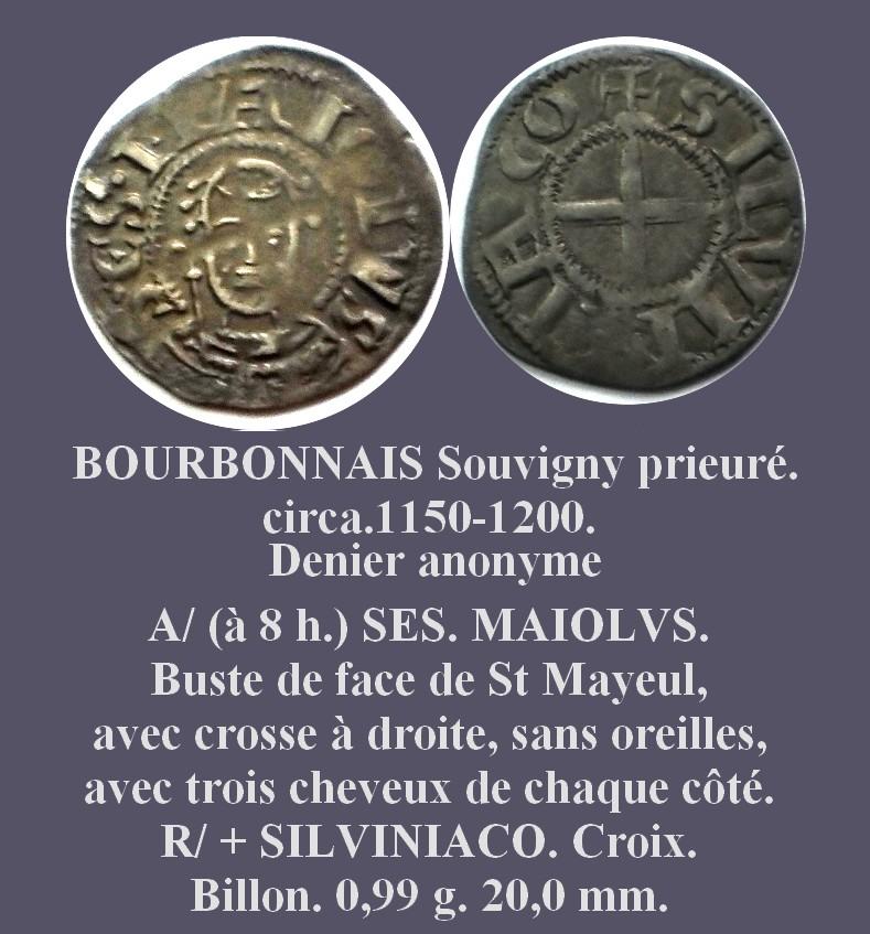 Denier ANONYME du Prieuré de Souvigny Denier12