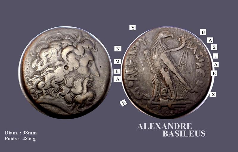"""Bronze pour Ptolémée III """"Évergète"""" ... Small_10"""