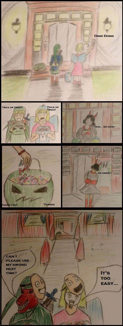 #5 Halloween - Illusion Magazin Comic10