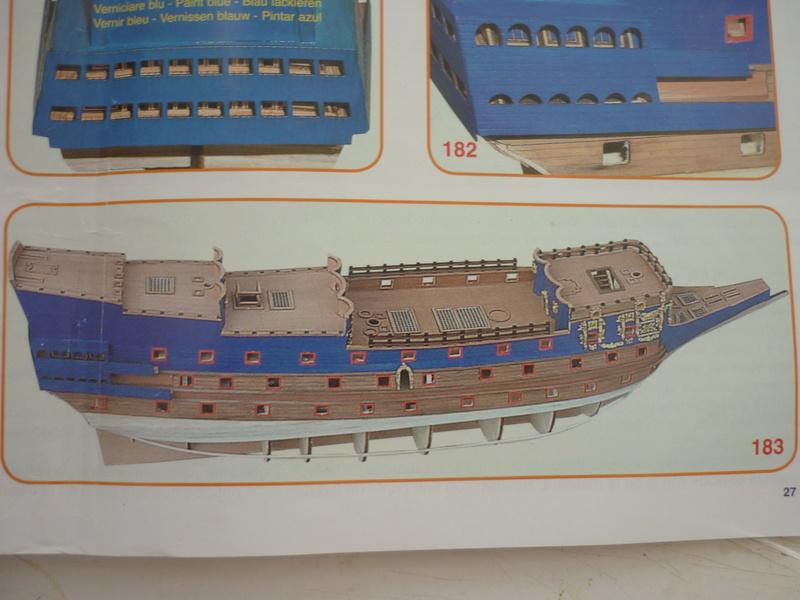 Sovereign Of The Seas XVII ème siècle de Sergal Mantua.  - Page 6 P1070216