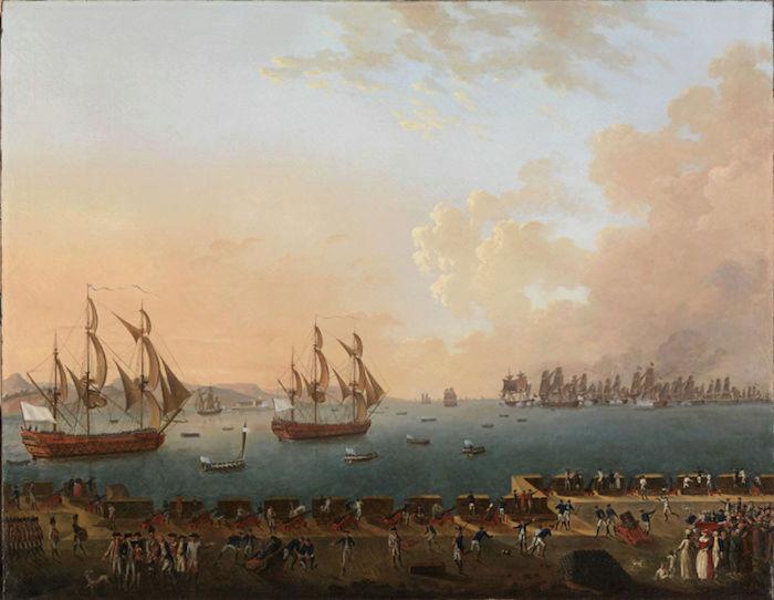 Indépendance - Indépendance des Etats-Unis d'Amérique, les combats sur mer illustrés par Auguste-Louis de Rossel 611