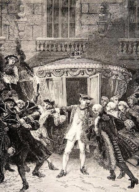 L'attentat de Robert-François Damiens contre Louis XV  Assass11