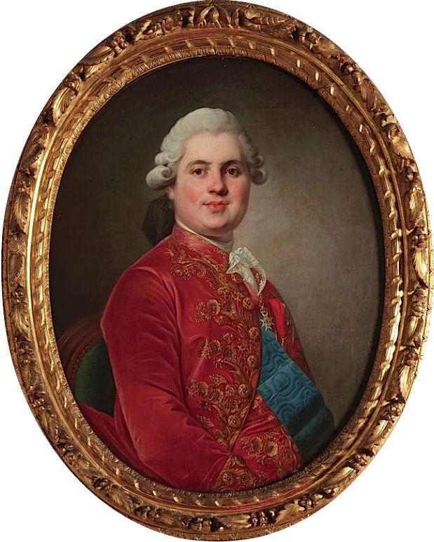 Louis-Stanislas, comte de Provence, et futur roi Louis XVIII - Page 9 Comte_11
