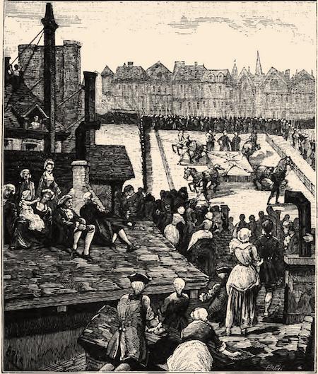 L'attentat de Robert-François Damiens contre Louis XV  Damien11
