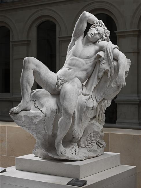 Le sculpteur Edme Bouchardon, une idée du beau. Faune_10