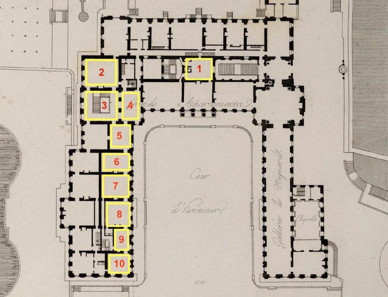 Baignoire provenant du château de Saint-Cloud, réputée avoir été utilisée par Marie-Antoinette ?  Plan_s10