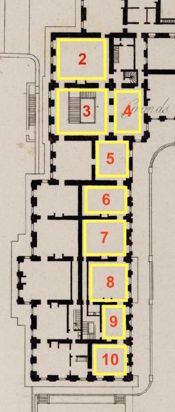 Baignoire provenant du château de Saint-Cloud, réputée avoir été utilisée par Marie-Antoinette ?  Plan_s11