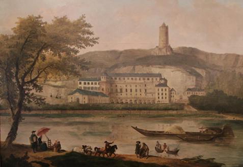 Tricentenaire de la Duchesse d'Enville à La Roche Guyon Vue-du10
