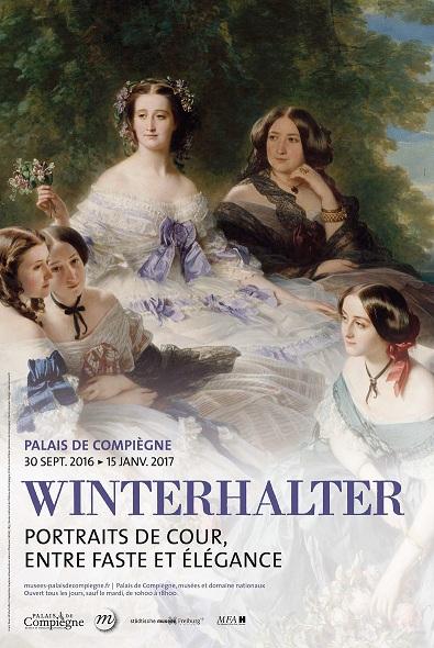 Exposition au palais de Compiègne : Winterhalter, portraits de cour Winter10