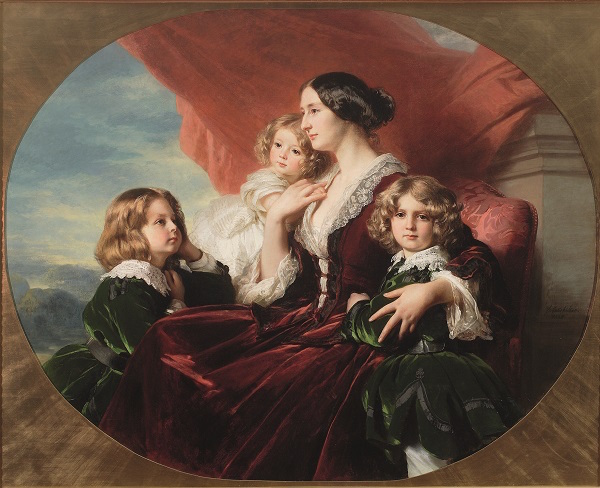 Exposition au palais de Compiègne : Winterhalter, portraits de cour Winter11