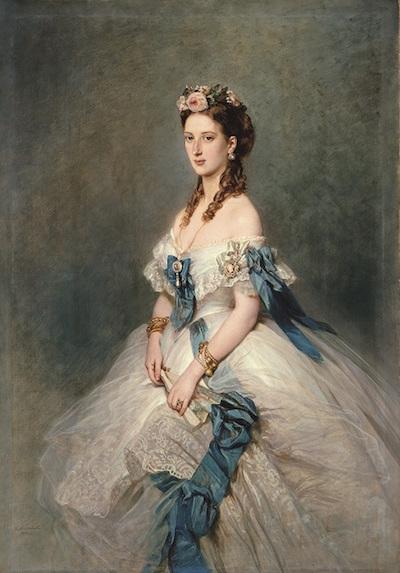 Exposition au palais de Compiègne : Winterhalter, portraits de cour Winter12