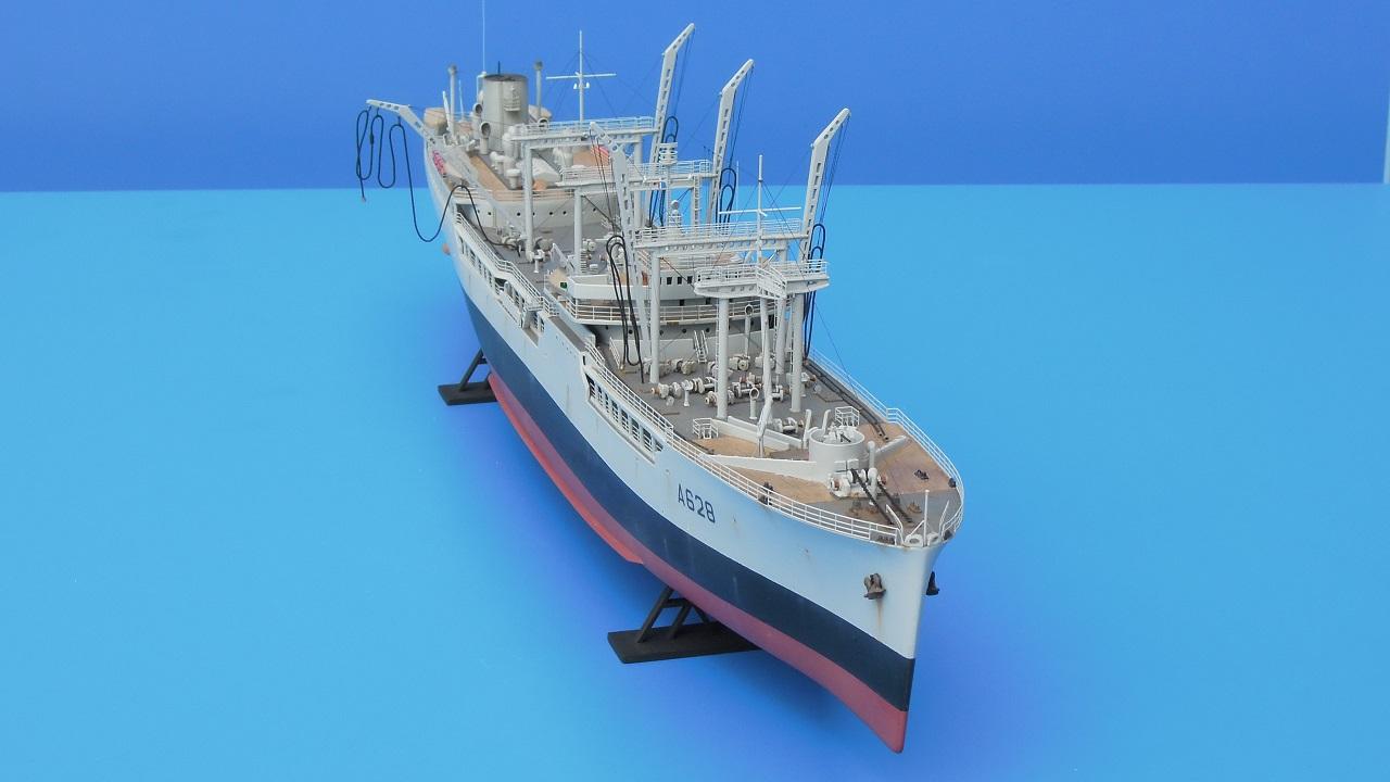 La Saône - Pétrolier ravitailleur - Heller - 1/400 910