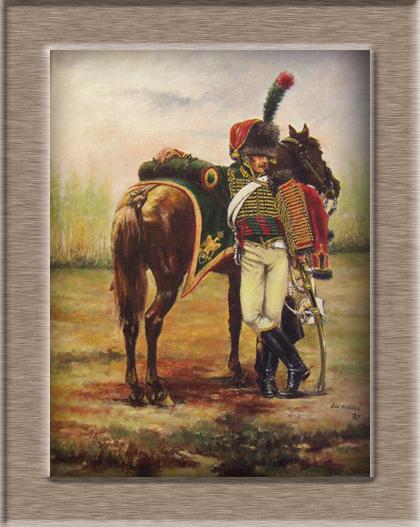 Chasseur à Cheval Garde Impériale tenue de parade 1800-1815 06f57711