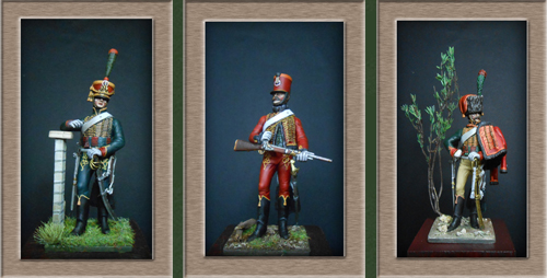 Chasseur à Cheval Garde Impériale tenue de parade 1800-1815 0o11
