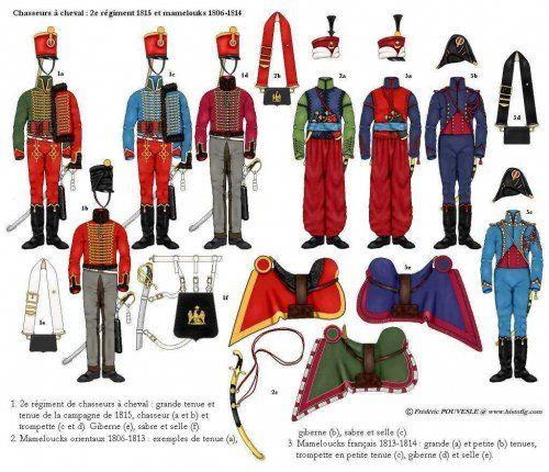 Chasseur à Cheval 2ème régiment Jeune Garde 1814-1815 B5a78d10