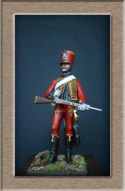 Chasseur à Cheval 2ème régiment Jeune Garde 1814-1815 Dscn5817