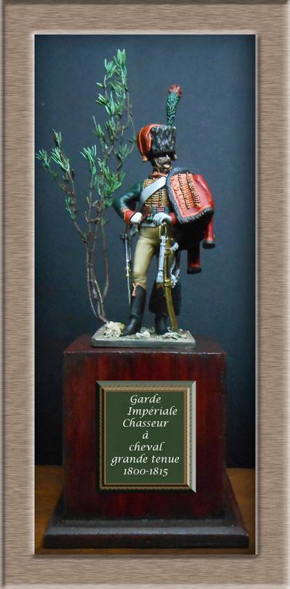 Chasseur à Cheval Garde Impériale tenue de parade 1800-1815 Dscn5916