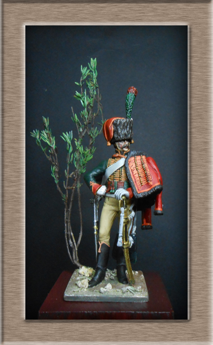 Chasseur à Cheval Garde Impériale tenue de parade 1800-1815 Dscn5917