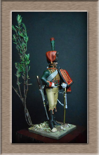 Chasseur à Cheval Garde Impériale tenue de parade 1800-1815 Dscn5918