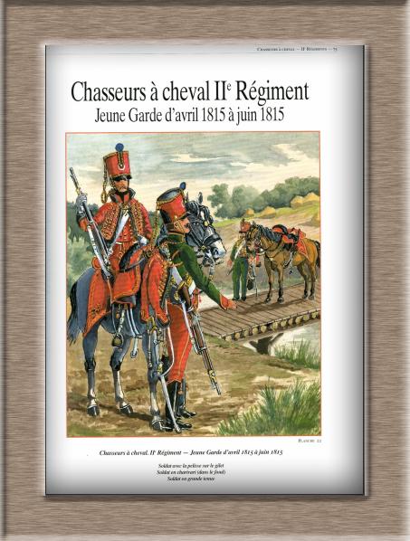 Chasseur à Cheval 2ème régiment Jeune Garde 1814-1815 Lok11
