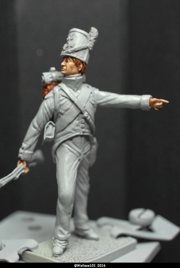 Soldat du 35ème bataillon Belge à Waterloo  54mm (Les Armées de Waterloo en 1815. Delaunoy Fabrice)  07091614
