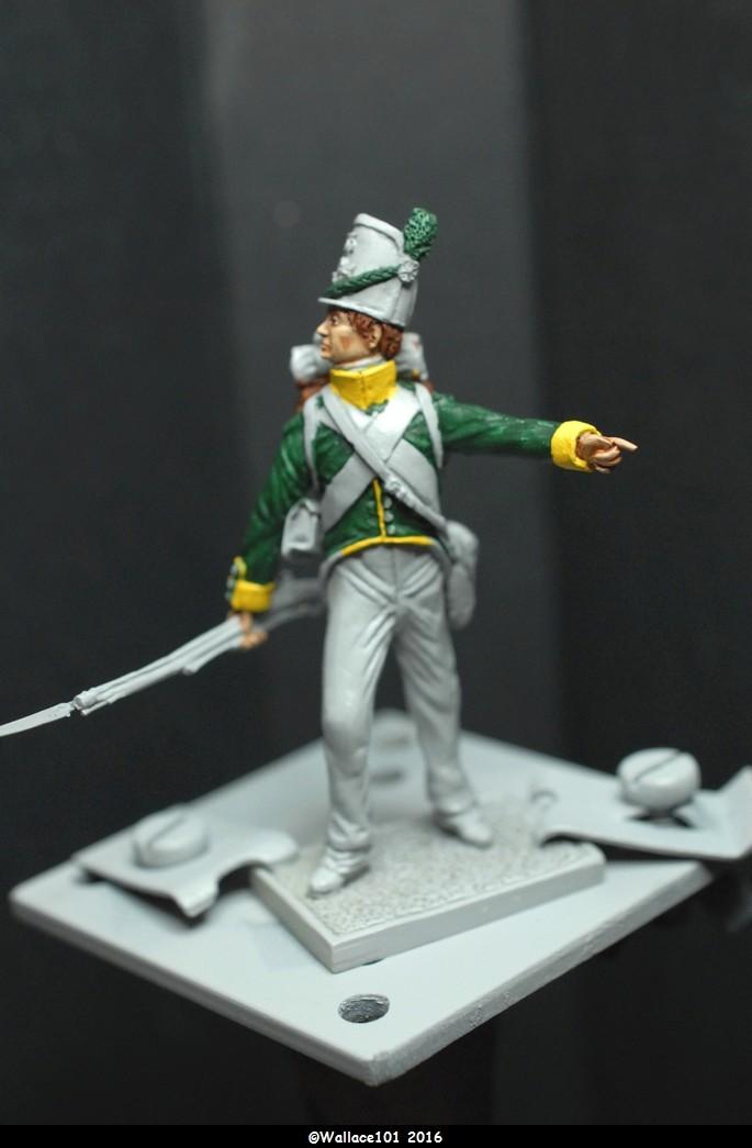 Soldat du 35ème bataillon Belge à Waterloo  54mm (Les Armées de Waterloo en 1815. Delaunoy Fabrice)  Dsc_0510