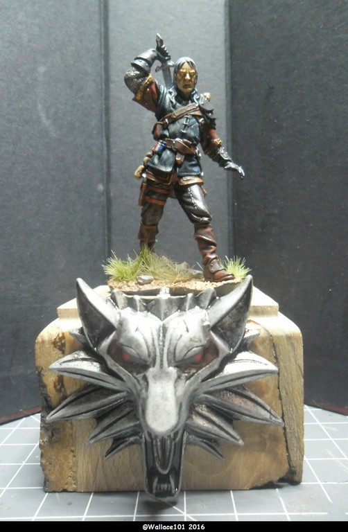 "Geralt de Riv ""The Witcher"" Andréa Miniatures 54mm Sam_0340"