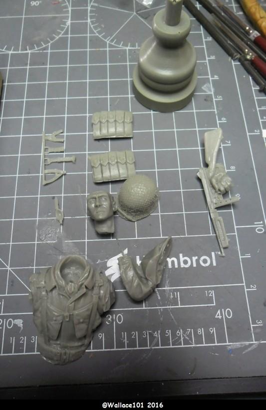 Pathfinder 1/502 PIR 101St Airborne 6 juin 44 (DES Kit 1/16) fini->galerie Sam_0411
