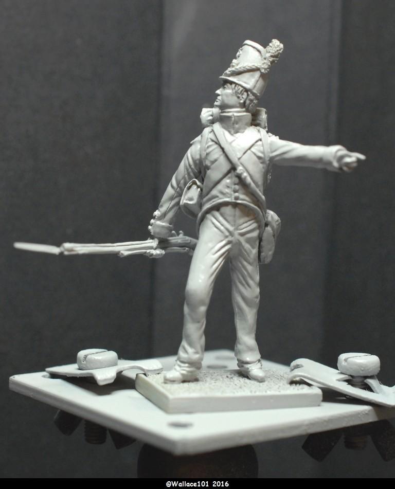 Soldat du 35ème bataillon Belge à Waterloo  54mm (Les Armées de Waterloo en 1815. Delaunoy Fabrice)  Sans_t20