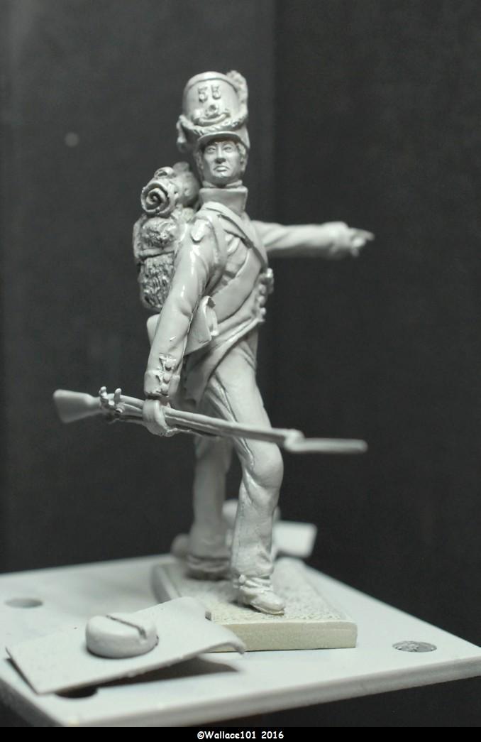 Soldat du 35ème bataillon Belge à Waterloo  54mm (Les Armées de Waterloo en 1815. Delaunoy Fabrice)  Sans_t21