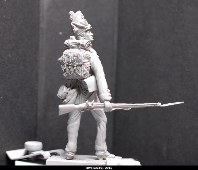 Soldat du 35ème bataillon Belge à Waterloo  54mm (Les Armées de Waterloo en 1815. Delaunoy Fabrice)  Sans_t22