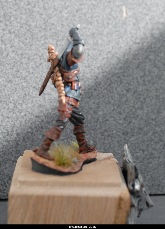 "Geralt de Riv ""The Witcher"" Andréa Miniatures 54mm Sans_t34"