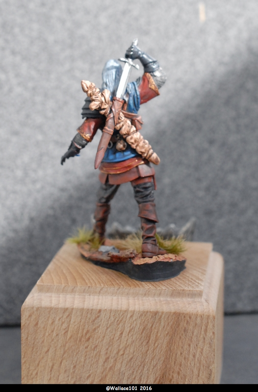 "Geralt de Riv ""The Witcher"" Andréa Miniatures 54mm Sans_t35"