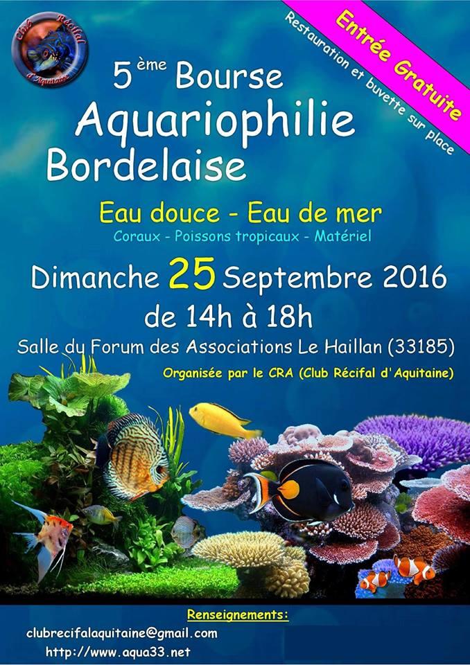Bourse Aquariophile Bordelaise Affich10