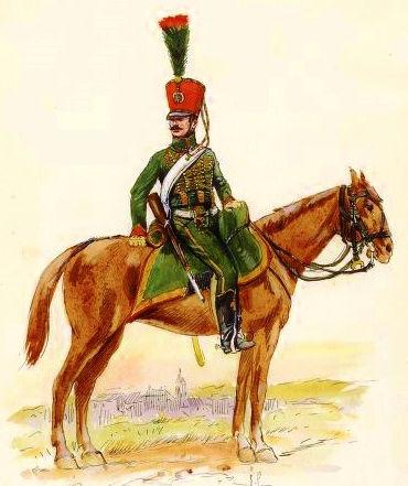 Chasseur à Cheval 2ème régiment Jeune Garde 1814-1815 Chasse11