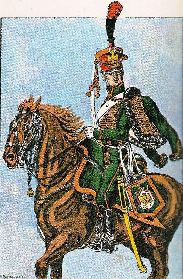 Chasseur à Cheval 2ème régiment Jeune Garde 1814-1815 Chasse12