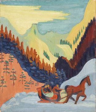 Ernst Ludwig Kirchner [Peintre] Aa54