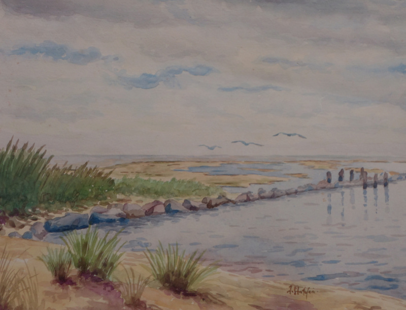 Hiddensee – la colonie des femmes peintres Aa62